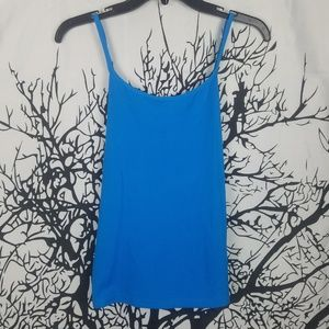 Cache | Bright Blue Camisole Tank Top medium